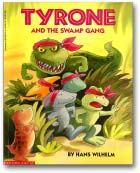 Tyrone and the Swamp Gang dinosaur picture book