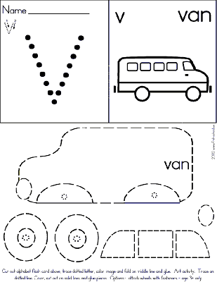 Land Transportation Preschool Activities and Crafts