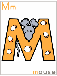 Alphabet Letter M Mouse Preschool Lesson Plan Printable Activities and Worksheets
