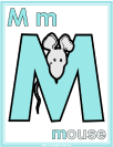 letter m mouse printable activities