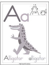 alphabet printable activities by theme or type