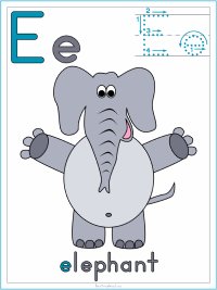 Elephant Theme Preschool Activities and Crafts