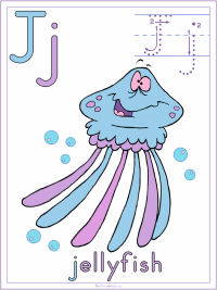 Letter J Alphabet Printable Activities Coloring Pages, Posters, Handwriting Worksheets