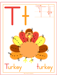 Turkey Theme Preschool Activities and Crafts
