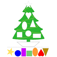 graphic relating to Printable Christmas Tree named Xmas Tree Colours and Styles Preschool Lesson Method