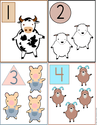 Numbers Printable Activities: Coloring Pages, Flash Cards, Worksheets Preschool and Kindergarten