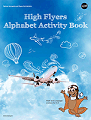 high flyers alphabet activity book  nasa