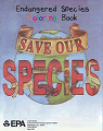 Endangered Species:  Save Our Species Coloring Book