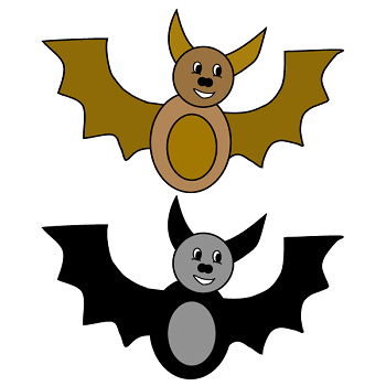 Bat theme activities and crafts