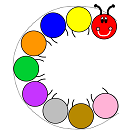 centipede colors and circles craft