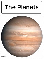 practice the circle with the eight planets