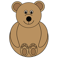 Bear or Teddy Bear Printable Craft Preschool Printable Activities
