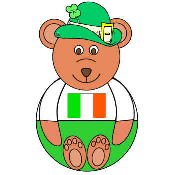 St. Patrick's Day Teddy Bear Craft Preschool Printable Activities