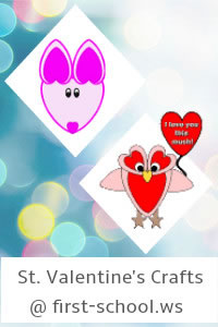 Valentine's Day Preschool Activities and Crafts