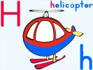 letter h helicopter online jigsaw puzzle