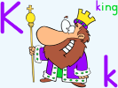 King preschool activities and crafts