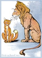 Aesop's Fable: The Lion and the Fox