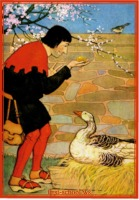 aesop's fable the goose that laid the golden eggs