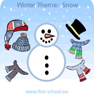 Snow and Snowmen Theme Preschool Activities and Crafts