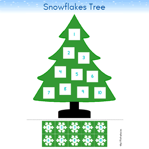 Winter Printable Activities and Worksheets for Preschool and Kindergarten