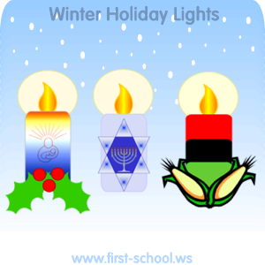 Christmas and Winter Holidays Preschool Activities and Crafts