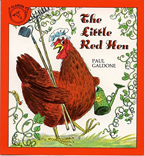 The Little Red Hen picture book