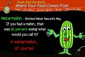 Watermelon - Bottled Water Nature's Way presentation